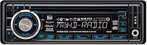 Dual XHD6425 4X50 Watt Bluetooth-Ready HD Radio and MP3 Player