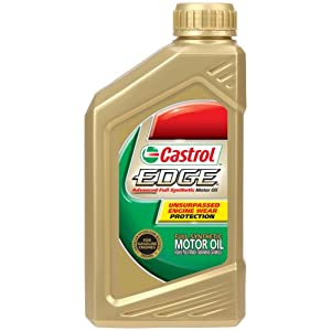castrol 06482 edge 5w 30 full synthetic motor oil 1 quart bottle pack of 6. Black Bedroom Furniture Sets. Home Design Ideas
