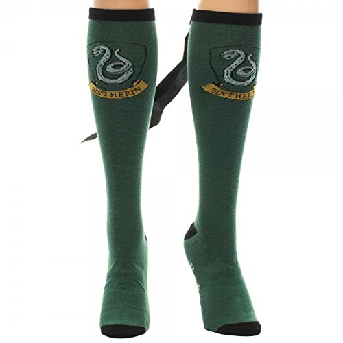 Harry Potter Slytherin Crew Socks With Cape
