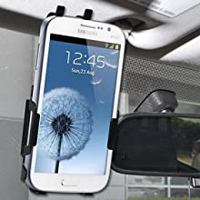 Amzer 95703 Anywhere Magnetic Vehicle Mount for Samsung GALAXY Grand Duos GT-I9082, Samsung GALAXY Grand GT-I9080...