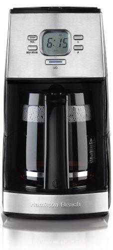 New Hamilton Beach 43254R Ensemble Programmable 12-Cup Drip Coffeemaker Compact (Hamilton Ensemble Coffee Maker compare prices)