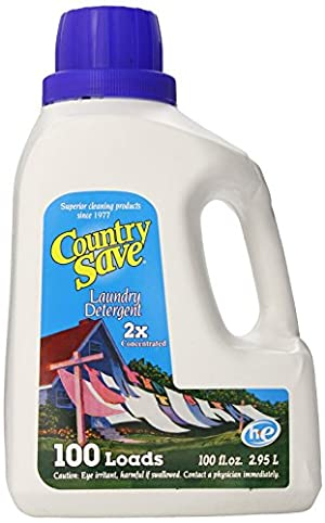 Country Save Liquid Laundry Detergent 100-Load 100 Ounce Bottles
