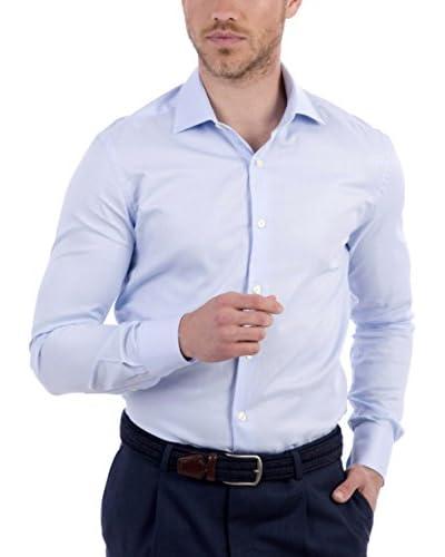 BLUE COAST YACHTING Camisa Hombre Azul Claro