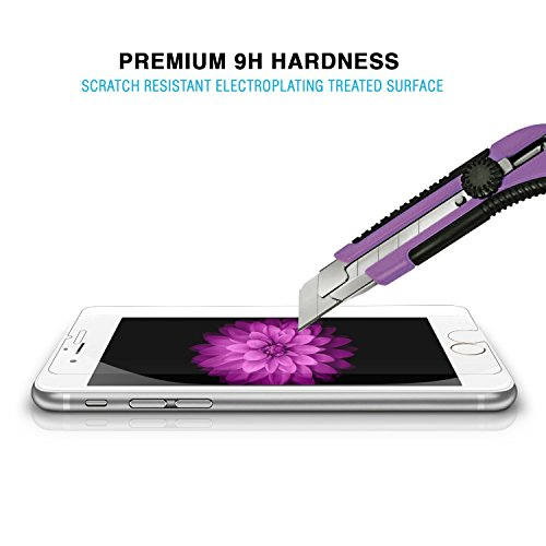 Easylife™ 2.5 D iPhone 6 強化保護フィルム クリア強化ガラススクリーン プロテクター プレミアム 0.33 mm HD (iPhone 6)【並行輸入品】