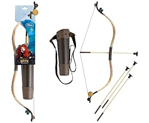 Disney / Pixar BRAVE Movie Roleplay Toy Merida Archery Set