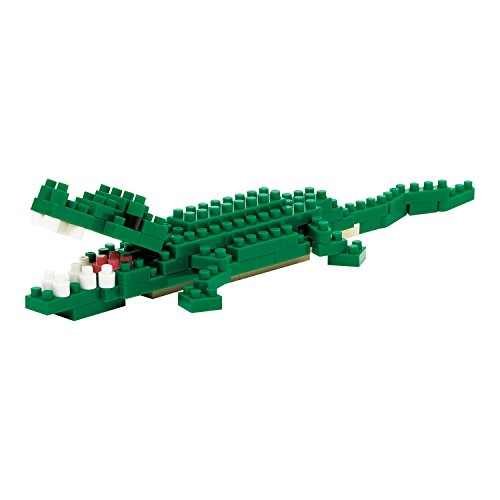Kawada NBC-058 Kawada Nano Block Nile Crocodile (NBC-058) Building Kit - 1
