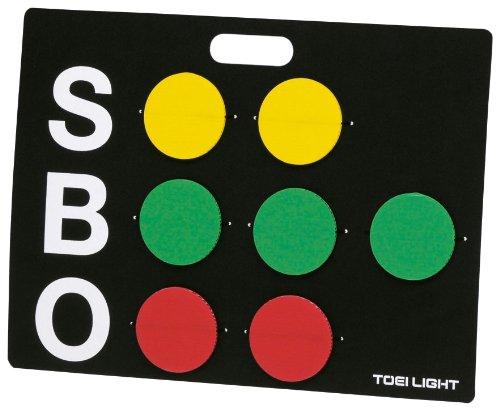 TOEI LIGHT(トーエイライト) ベースボールカウンターST B-3728