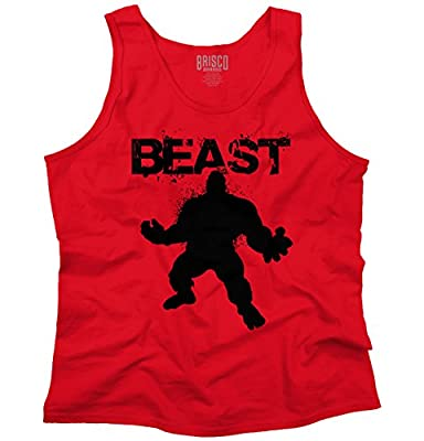 BEAST - Mode Workout T-Shirt Gym Fitness Muscle Bodybuilding Tank Top