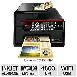 Kodak HERO 6.1 Wireless Color Printer with Scanner, Copier & Fax