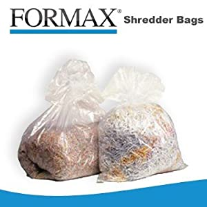 Formax Shredder Bags for Formax Model FD8802/FD8804