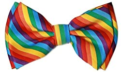 Pre-tied Bow Tie in Coool Brand Gift Box- Rainbow