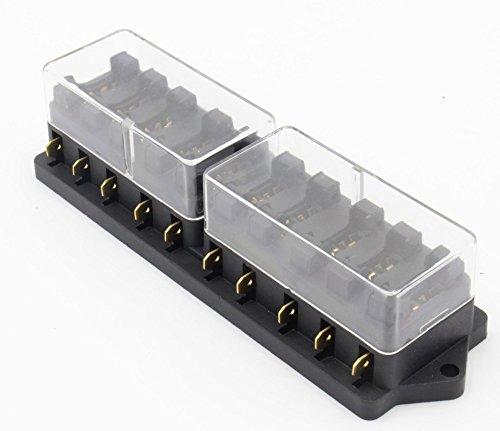 スミティ ( Smiti ) 自動車用 汎用 ヒューズ ボックス 10回路
