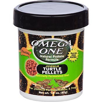 Omega One Juvenile Turtle Pellets 1.5Oz front-469572