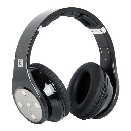 Bluedio Model R Revolution 8 Tracks Built In Mp3 Player Hi-Fi Rank Wireless & Bluetooth Headphones (Black)