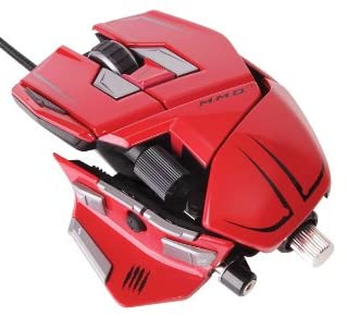 [Win8対応] Cyborg M.M.O. 7 Gaming Mouse for PC&Mac Red (MC-MMO7R)