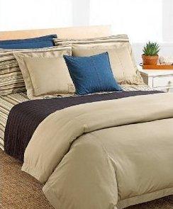 Ralph Lauren University Khaki Standard Pillow Sham