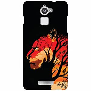 Back Cover For Coolpad Note 3 Lite -(Printland)