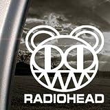 RADIOHEAD Decal SCARY BEAR KID A ALBUM Car Sticker