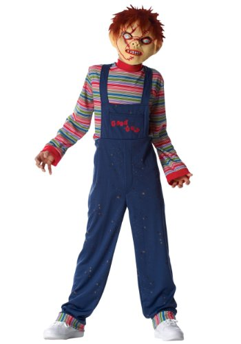 [Costume Culture by Franco LLC unisex-adult Big Boys' Chucky Costume X-Small] (Chucky Costumes For Children)