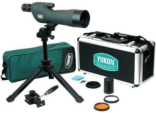 Yukon Advanced Optics Spotting Scope Kit with Straight Eye Piece (15?45 X 60mm)