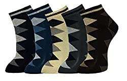 Marc Men's Socks (Pack Of 5) (Multi-Coloured_Free Size)