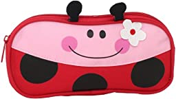 Stephen Joseph Little Girls\'  Pencil Pouch, Ladybug, One Size
