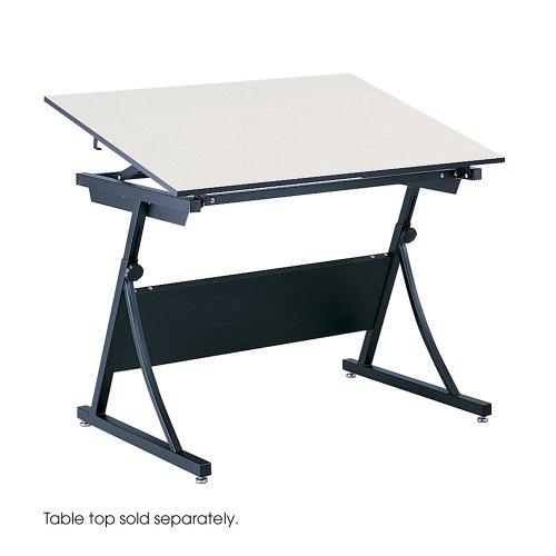 Safco PlanMaster Height-Adjustable Drafting Table Base- SAF3957