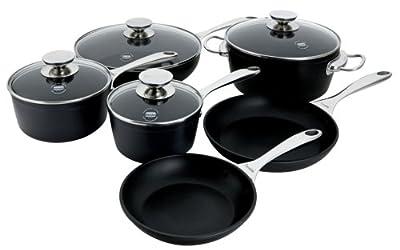 Berndes Coquere Aluminum Induction 10-Piece Cookware Set