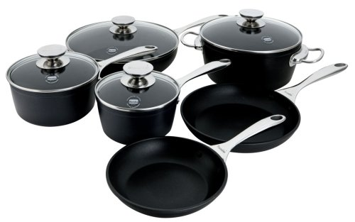 Berndes Coquere Aluminum Induction 10-Piece Cookware Set