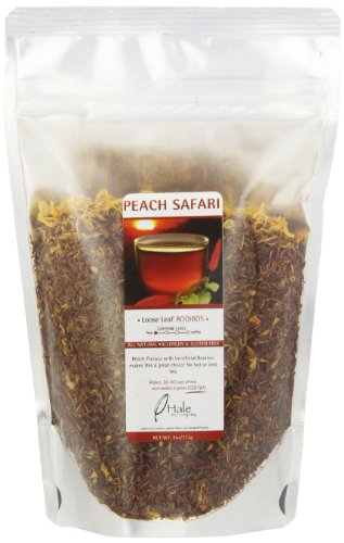 Hale Tea Rooibos, Peach, 4-Ounce