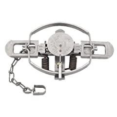 1 Dozen (12 PAK) Duke 3 Coil Spring Trap Dozen for Beaver, Bobcat, Coyote, and Lynx by Duke