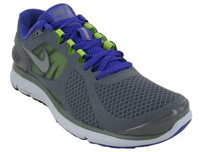 6f6911f0069 Nike Men s NIKE LUNARECLIPSE 2 RUNNING SHOES 9 CL GREY RFLCT SLVR PR PRPL  PR P