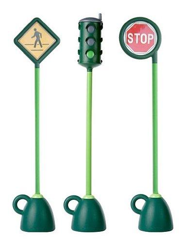 Italtrike Kids Baby Products Nursery Accessories 3 Pc Signage Set (Light, Stop, Crosswalk)