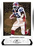 Marshawn Lynch Buffalo Bills 2009 Donruss Classics NFL Football Trading Card in