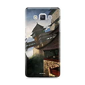 Motivatebox - Samsung Galaxy E7 Back Cover - Bigfoot Drinking Polycarbonate 3D Hard case protective back cover. Premium Quality designer Printed 3D Matte finish hard case back cover.