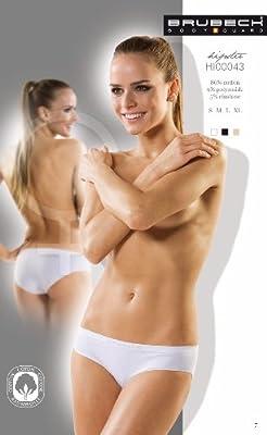 5x Brubeck Damen Hipster Slip PerfectFitnahtlos ( Damen Unterwäsche Sport Funktionswäsche Baumwolle Polyamid Premium Qualität) from Brubeck