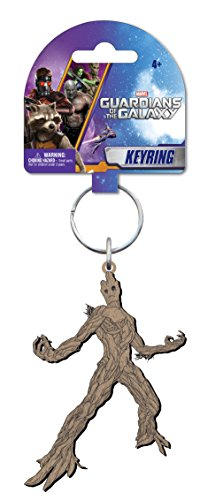 Marvel Groot Soft Touch PVC Key Ring