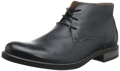 Bostonian Men's Barbour Boot,Black Leather,13 M US