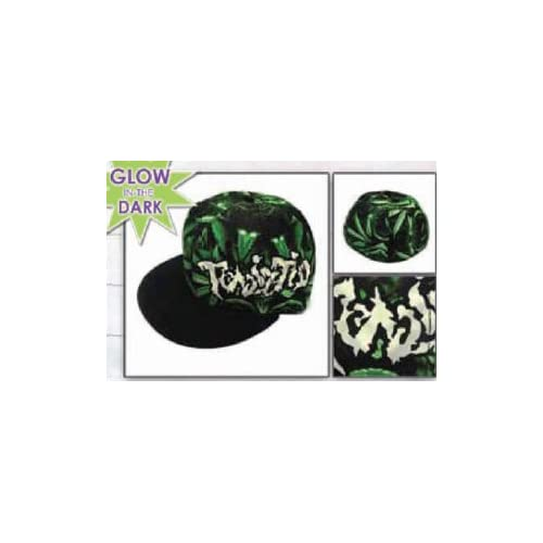 twiztid music band hat pot weed leaf allover logo flatbill flex fit cap. Black Bedroom Furniture Sets. Home Design Ideas