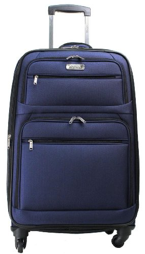 Kenneth Cole Reaction Luggage Changing Lanes Suitcase, Blue, Medium
