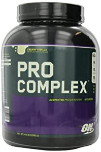 Optimum Nutrition Pro Complex, Creamy Vanilla, 4.6 Pound from Optimum Nutrition