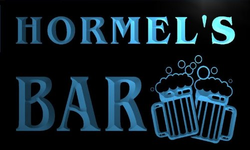 w057319-b-hormel-name-home-bar-pub-beer-mugs-cheers-neon-light-sign