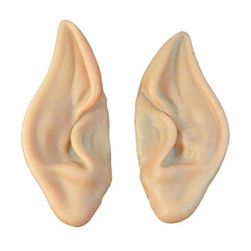 Kingfansion 1Pair Pointed Fairy Elf Cosplay Halloween Costume Ear Tips (Cosplay House compare prices)