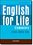 English for Life: Elementary: Class Audio CDs