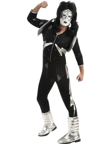 Spaceman Deluxe Adult Costume Xlg Adult Mens Costume