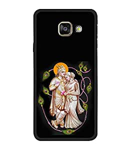 printtech Lord God Radha Krishna Back Case Cover for Samsung Galaxy A7 (2016) :: Samsung Galaxy A7 (2016) Duos with dual-SIM card slots