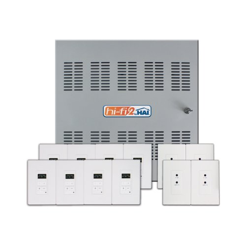 Hi-Fi 2 8-Zone, 8-Source Distributed Audio System in Enclosure, 95A00-1