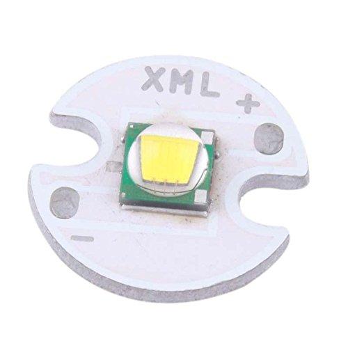 Cree Xml-T6 Led White Flashlight Lamp Bead Light Torch Bulb 1000Lm 3-3.7V Repair Part