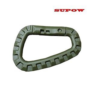 Amazon.com: SUPOW(TM) D-Ring Carabiner Clip Snap Tactical TAC Link