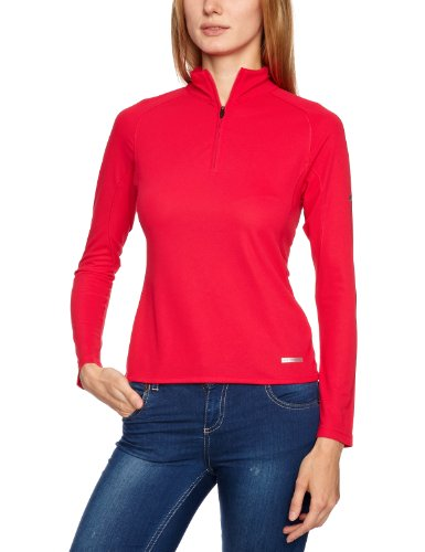 Berghaus  Womens Technical T  Long  Sleeve Zip Neck